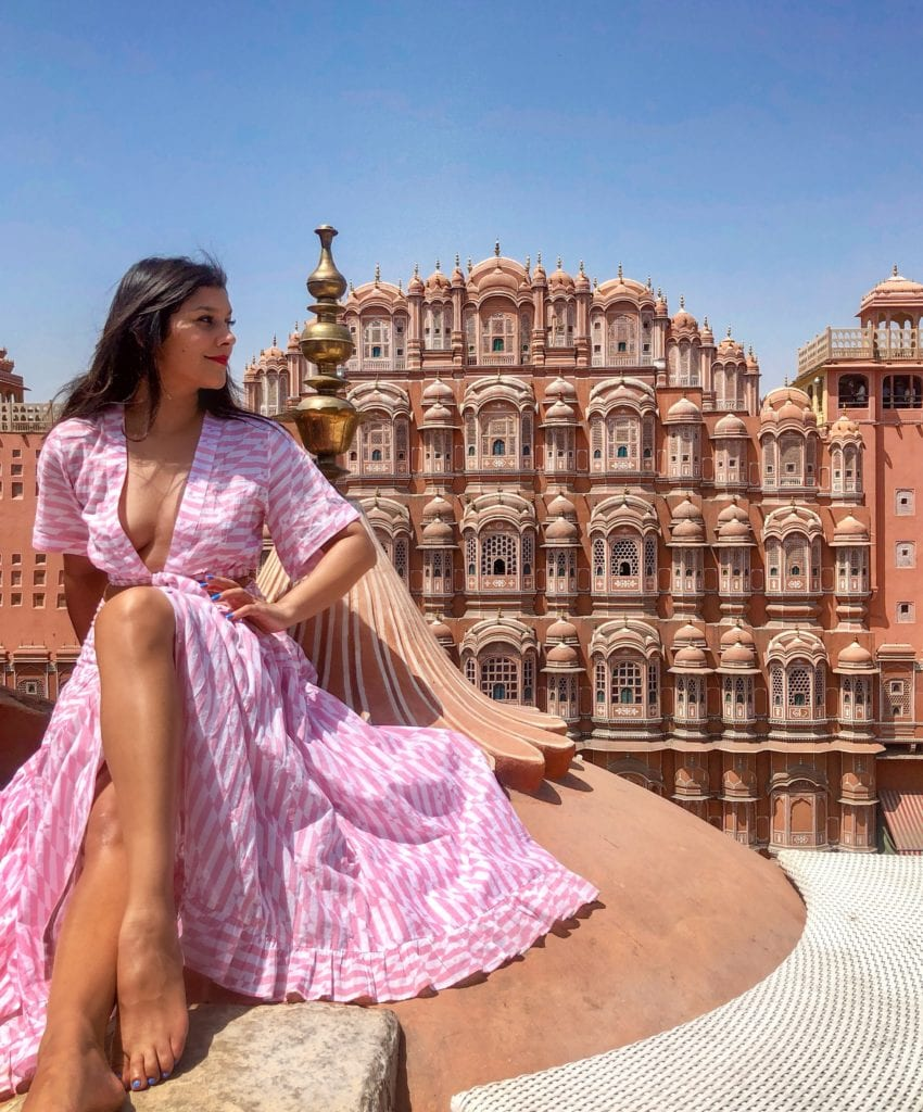 How to shoot hawa mahal 10 Best Instagram locations Rajasthan, India plus Taj Mahal Photography tips bonnie rakhit style traveller