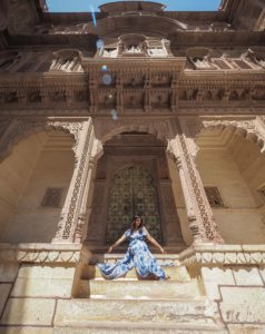 most instagrammable places in Jaipur Rajasthan India Bonnie Rakhit mehragarh fort Jodhpur