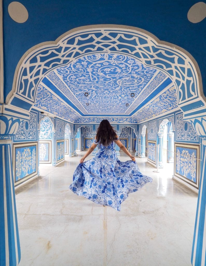 most instagrammable places in Jaipur Rajasthan India Bonnie Rakhit city palace