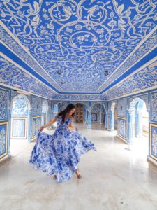 Blue room city palace How to shoot 10 Best Instagram locations Rajasthan, India plus Taj Mahal Photography tips bonnie rakhit style traveller