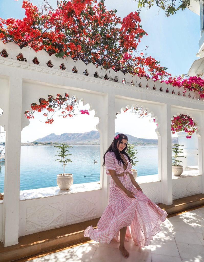 Taj Lake Palace Hotel, Udaipur Bonnie Rakhit marble swimming pool Bonnie Rakhit where to stay India luxury