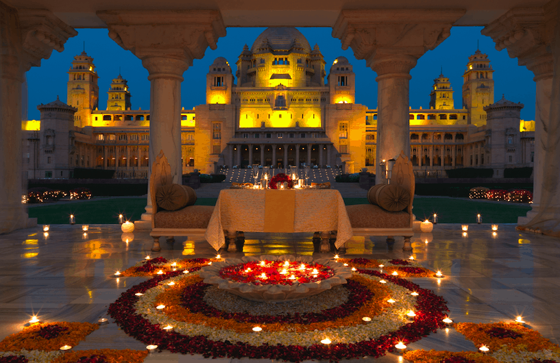 Umaid Bhawan Palace Taj Jodhpur best India luxury itinerary