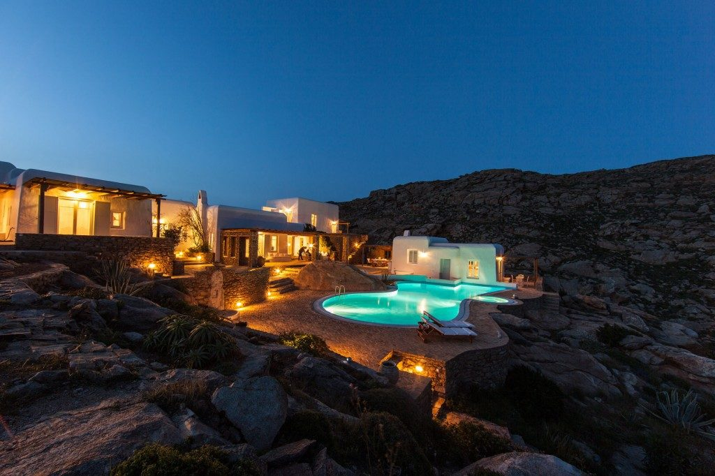 Dolce Vita Villas Mykonos best luxury greece