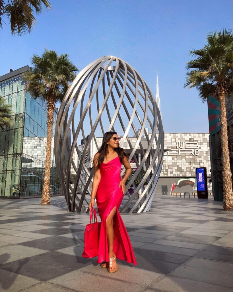 Bonnie Rakhit style traveller W Dubai The Palm shopping trip Bonnie Rakhit City walk