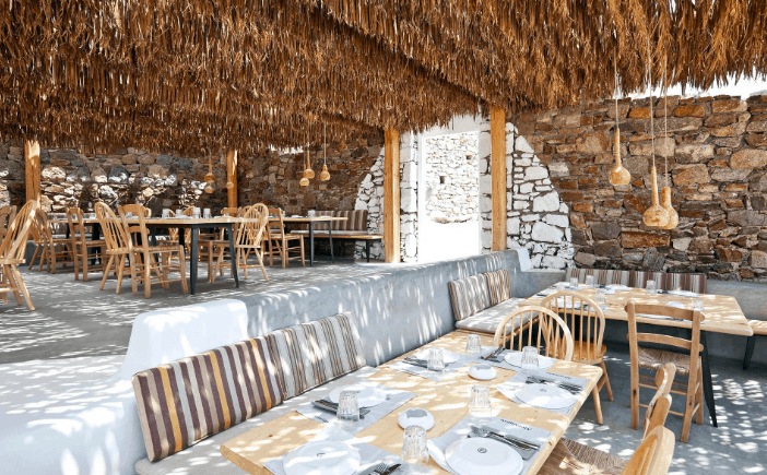 alemagou Mykonos - 5 Best Stylish Nights Out and Beach Clubs restaurants