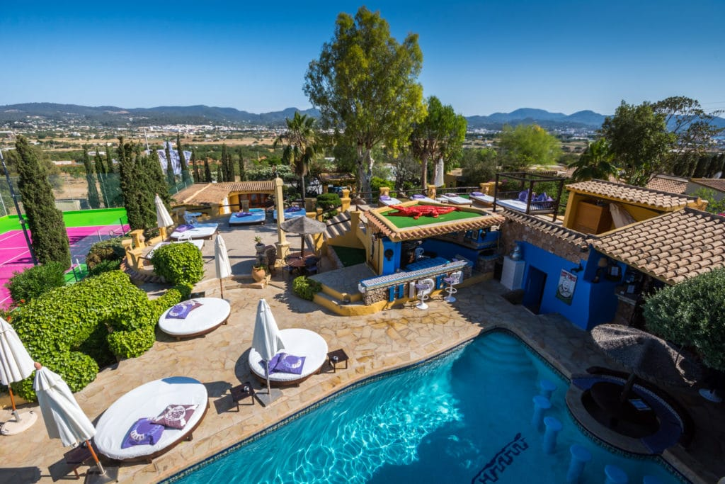 best party hotels ibiza where to stay