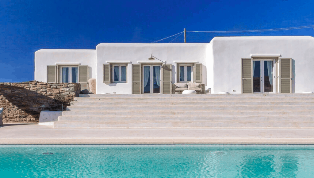 Exclusive luxury villas in mykonos kinglike
