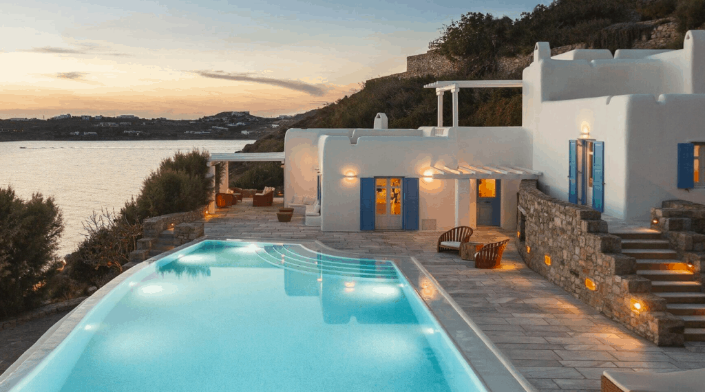 villa sui generis best villas in Mykonos