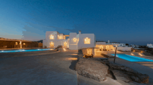 Villa Alaia Kinglike best exclusive luxury villas in Mykonos beautiful