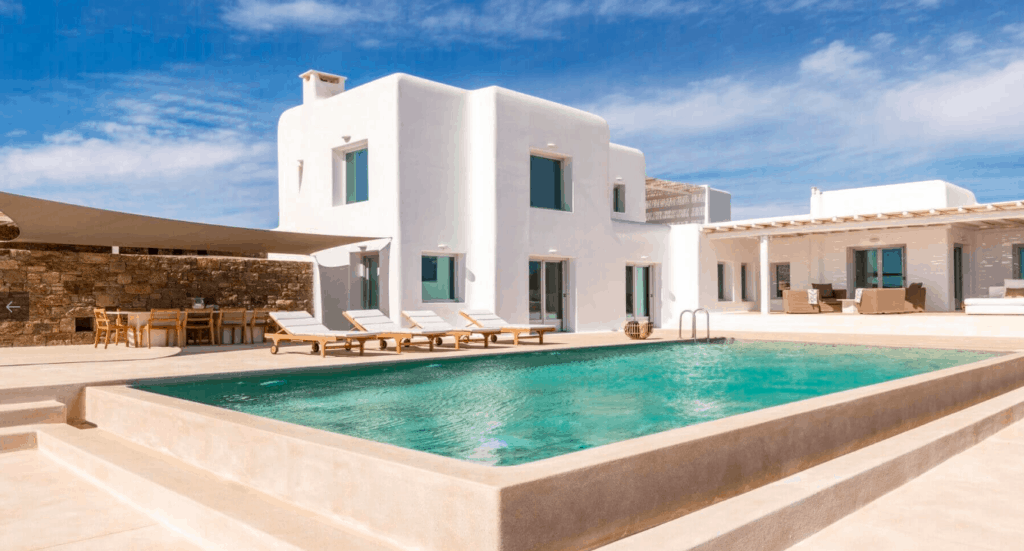 Villa Alaia Kinglike best exclusive luxury villas in Mykonos amazing