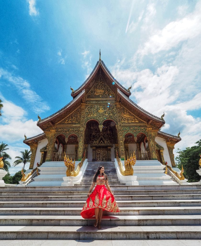 Bonnie Rakhit style traveller luang prabang temple and royal palace Laos