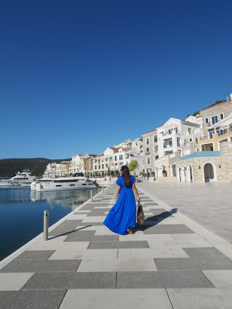 beautiful hotels at marinas Bonnie Rakhit Chedi Montenegro