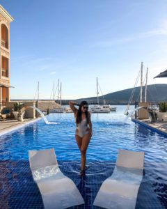 A Luxury Winter Weekend at The Chedi Montenegro Bonnie Rakhit winter escapes best swimming pools at hotels