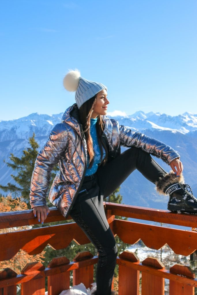 The Ultimate Luxury Ski Chalet - Ultima Crans Montana, Switzerland Bonnie Rakhit .skiing ski wear