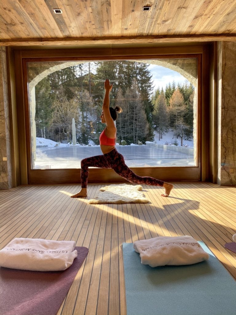 The Ultimate Luxury Ski Chalet - Ultima Crans Montana, Switzerland Bonnie Rakhit .spa yoga