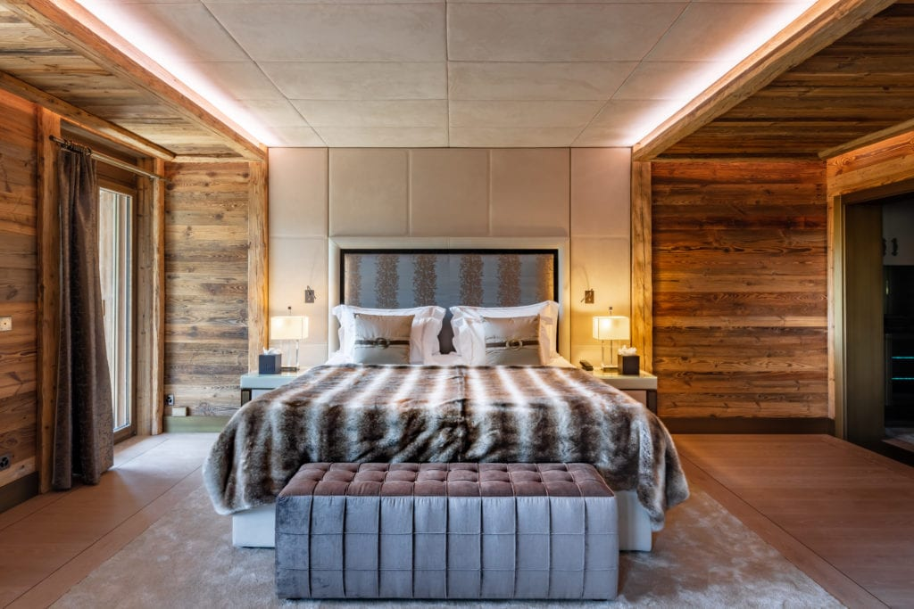 Ultima Crans Montana Bedroom 2 - ©Igor Lask