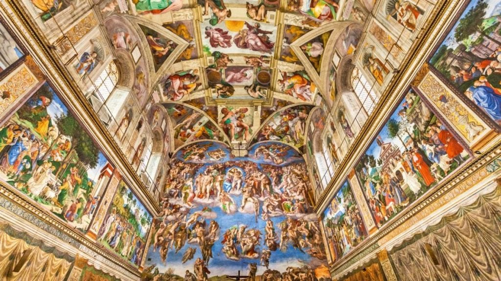 Sistine chapel all to yourself virtually