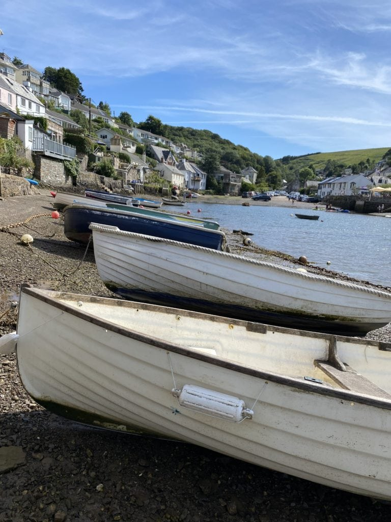 boating in Noss Mayo where to stay in Devon