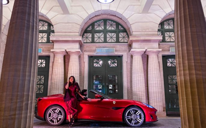 UK-Staycation-at-the-University-Arms-Hotel-Cambridge-Bonnie-Rakhit-Ferrari-Portofino