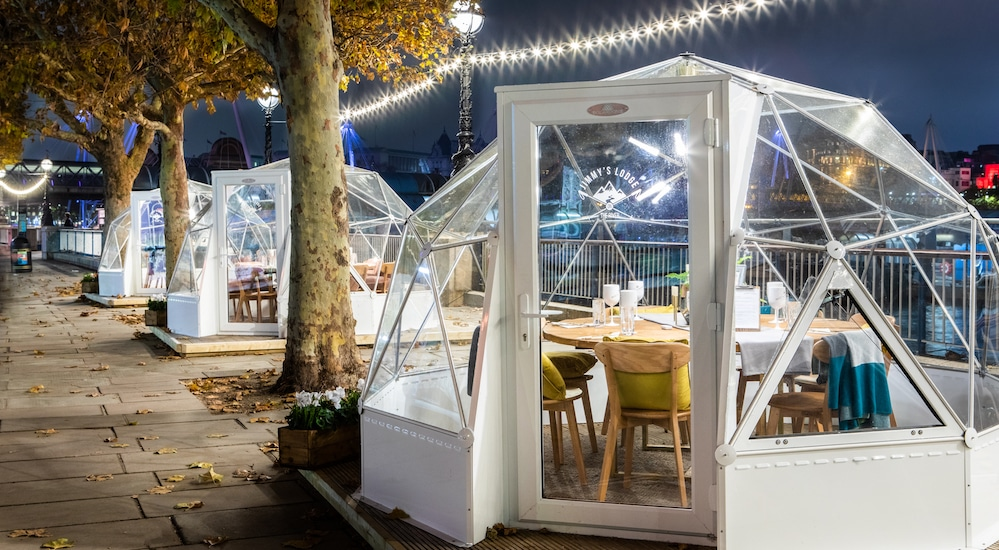 JimmysLodge-igloos outdoors in London
