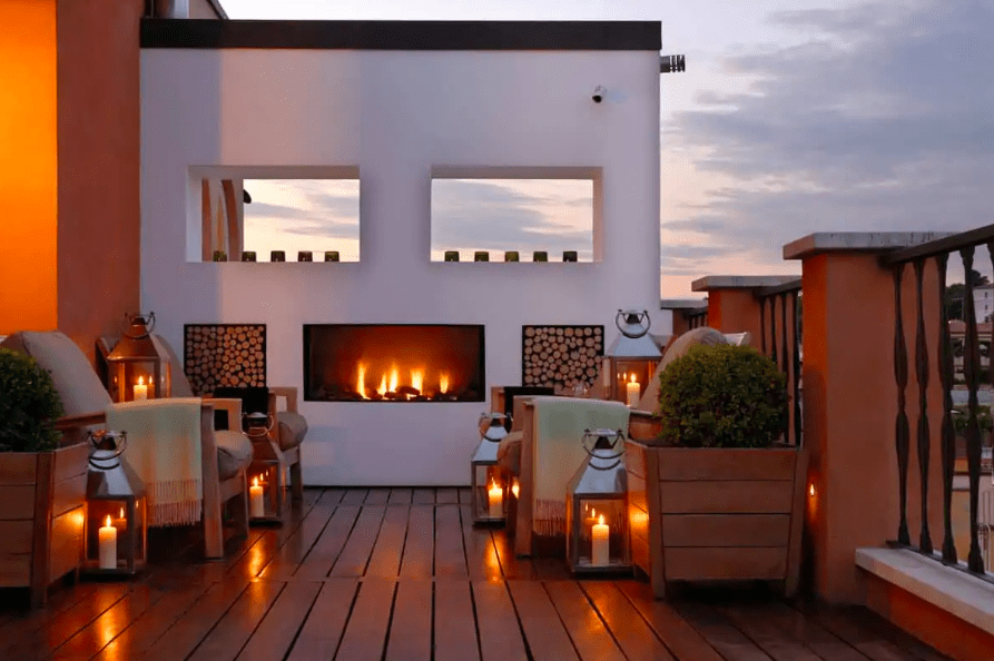 Best places to stay in Italy - Portrait Roma stunning bedrooms and private terraces