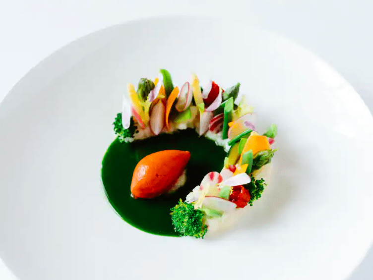 Michelin starred restaurant food can be enjoyed in the privacy of your own private suite