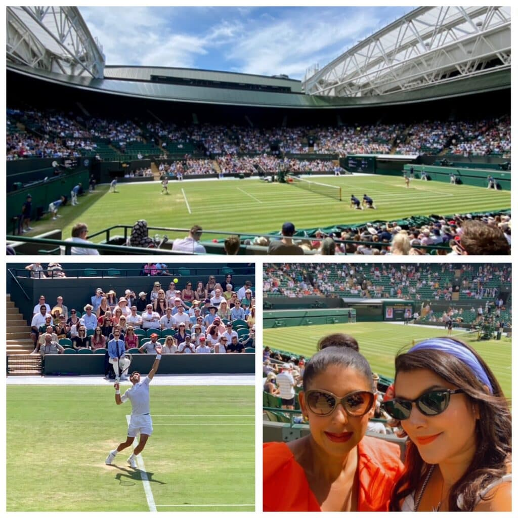 Wimbledon VIP Bonnie Rakhit Keith Prowse how to do wimbledon in style hospitality