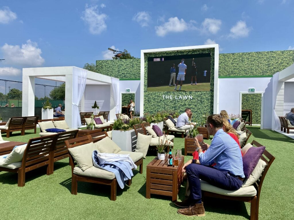 keith prowse the lawn hospitality wimbledon