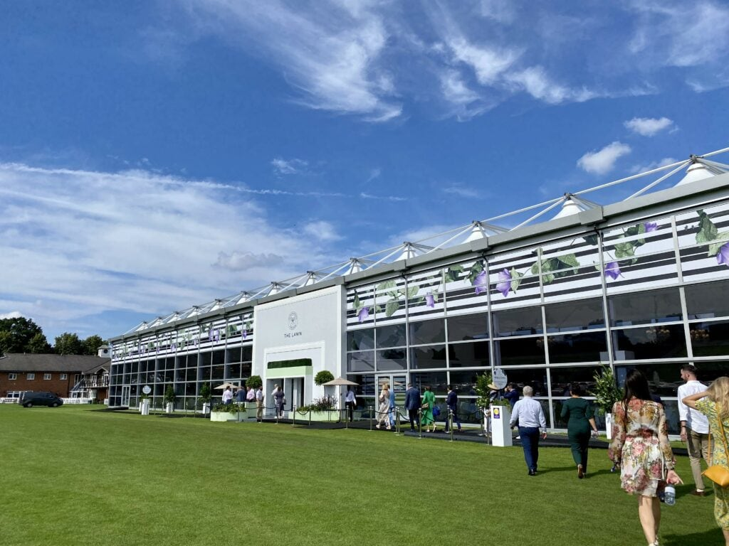 the lawn wimbledon vip hospitality suites