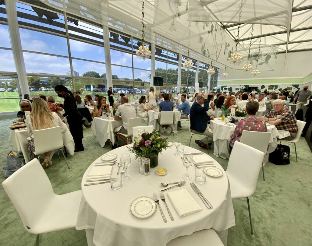 the lawn wimbledon vip hospitality suites hosted events